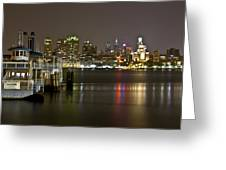 Ferry To The City Of Brotherly Love Greeting Card