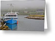 Ferryland Harbour-nl Greeting Card