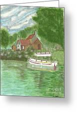 Ferryman's Cottage Greeting Card