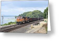 Ferryville Train Greeting Card