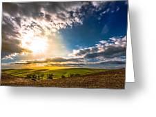 Fertile Palouse Hills Greeting Card