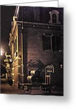 Festhalle Nocturne Greeting Card