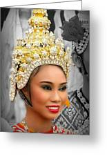 Festival Queen Greeting Card