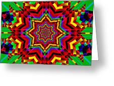Festive Colors Greeting Card