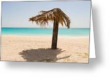 Ffryers Beach Hut Greeting Card