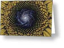 Fibonaccis Mandela V.2 Greeting Card