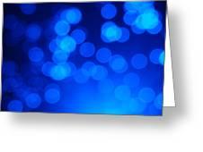 Fibre Optics 2  Greeting Card