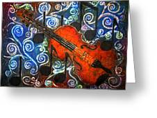 Fiddle - Violin Greeting Card