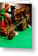 Fiddled Foto Greeting Card