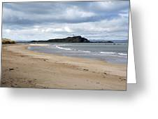 Fidra Island Lighthouse Greeting Card