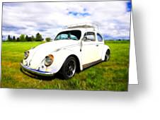 Field Bug Greeting Card