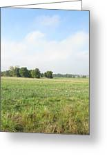 Field In France Greeting Card