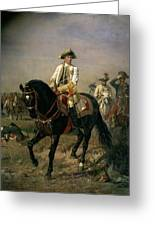 Field Marshal Baron Ernst Von Laudon 1717-90, General In The Seven Years War And War Of Bavarian Greeting Card