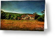 Field Of Broken Dreams Greeting Card