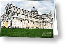 Field Of Dreams Cathedral Greeting Card