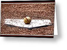 Field Of Dreams The Ball Greeting Card