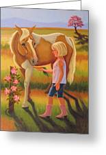 Fields Of Blessing Greeting Card