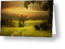 Fields Of Dreams Greeting Card