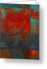 Fiery Whirlwind Onset Greeting Card
