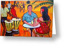 Fiesta At The Beach Greeting Card