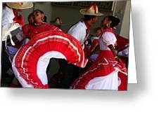 Fiesta De Los Mariachis Greeting Card