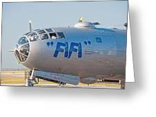 Fifi - Nose Art Greeting Card