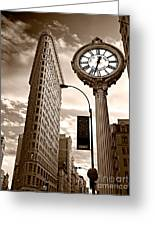 Fifth Avenue Building Greeting Card