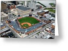 Fifth Third Field Toledo Ohio Greeting Card