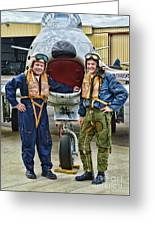 Fighter Pilots Greeting Card