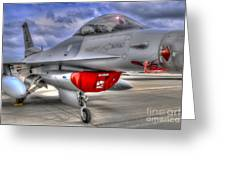 Fighting Falcon Greeting Card