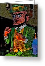 Fighting Irish Greeting Card