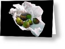 Figs In A Napkin Greeting Card