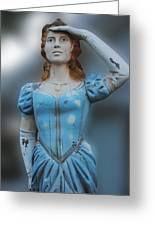 Figurehead Greeting Card
