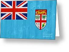 Fiji Flag Greeting Card