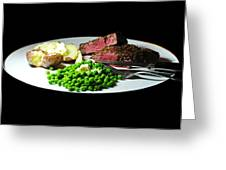 Filet Mignon Greeting Card