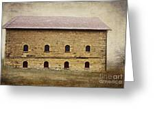 Filley Stone Barn South Side Greeting Card