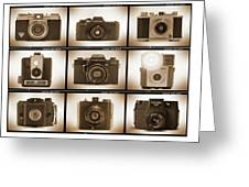 Film Camera Proofs 3 Greeting Card by Mike McGlothlen