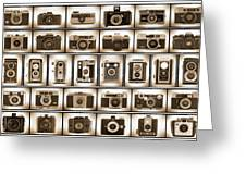 Film Camera Proofs Greeting Card
