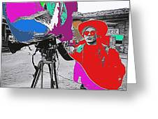 Film Homage Andy Warhol Lonesome Cowboys Old Tucson Arizona 1968-2013 Greeting Card