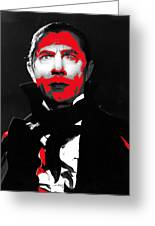 Film Homage Bela Lugosi Mark Of The Vampire 1935-2013 Greeting Card