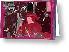 Film Homage Cameraman Billy Bitzer Director D.w. Griffith Collage Circa 1912-2012 Greeting Card