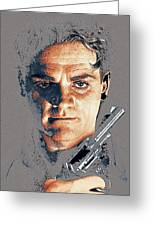 Film Homage Close-up James Cagney Angels With Dirty Faces 1939-2014 Greeting Card