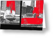 Film Homage Collage Fox Tucson Closed Last Bill  Original Ticket Stub 1984-1974-2012                 Greeting Card