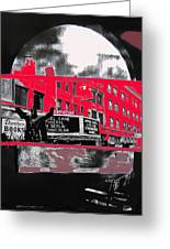 Film Homage Funeral In Berlin 1966 Orpheum Winter Carnival Parade Collage St. Paul Mn 1967-2008  Greeting Card