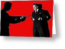 Film Homage James Cagney Angels With Dirty Faces 1939-2014 Greeting Card