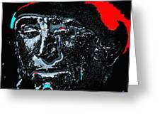 Film Homage  Kirk Douglas  Lust For Life  1956  Old Tucson Arizona 1971-2010 Greeting Card