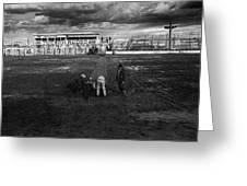 Film Homage Nicholas Ray The Lusty Men 1952 Rko Tucson Rodeo 1983-2008 Greeting Card