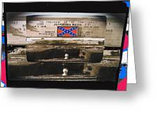 Film Homage Rock Hudson The Undefeated 1969 Apache Owned Pickup Tucson Az  Collage 1985-2012  Greeting Card
