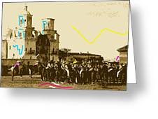 Film Homage Rouben Mamoulian  Ida Lupino  The Gay Desperado 1 1936 San Xavier Tucson Greeting Card