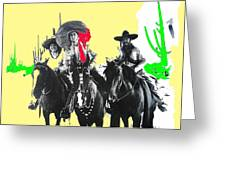 Film Homage The Gay Desperado 1936 Chris-pin Martin  Nino Martini Saguaro  Nat'l Monument Tucson Greeting Card